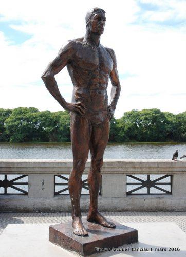 José Meolans, paseo de la Gloria, quartier Puerto Madero, Buenos Aires, Argentine