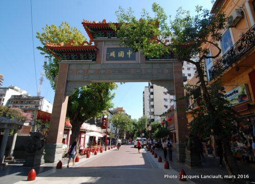 Quartier chinois, Buenos Aires, Argentine