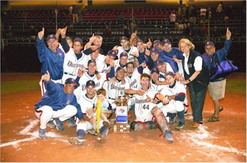 Les Diamants de Québec, champions du calendrier régulier 2004 de la LBÉQ