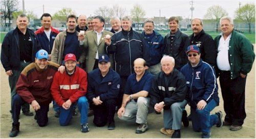 Match d'ouverture de la saison 2004 de la LBÉQ à Saint-Eustache.