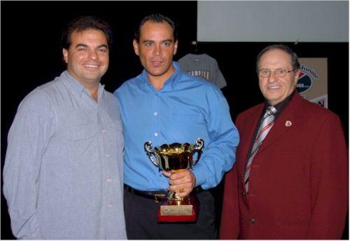 Alex Agostino, Martin Pouliot et Raymond Demers