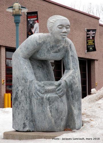 La gardienne de l'eau, Boisbriand, Québec