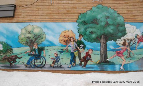 Fresque des citoyens, Boisbriand, Québec