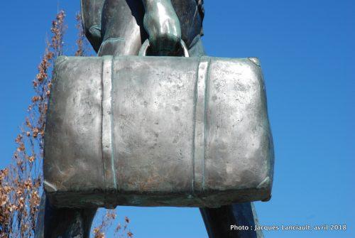 Monument à l'immigrant, U.Taccola etA.Zaccarella, Saint-Léonard, Montréal, Québec
