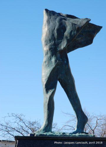 L'Homme dans le Vent, Antonio Masini, Saint-Léonard, Montréal, Québec