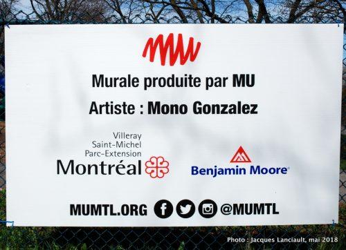 Diálogo, Mono Gonzalez, Montréal, Québec