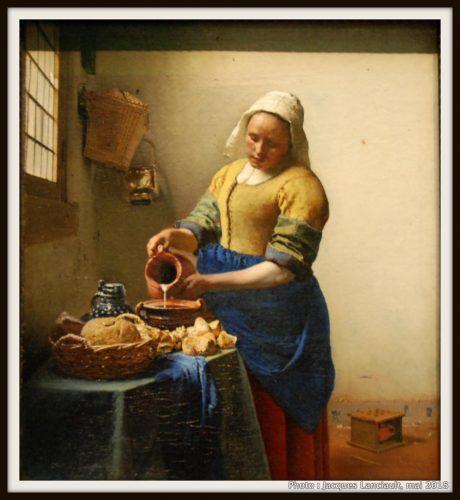 La Laitière, Rijksmuseum, Amsterdam, Pays-Bas