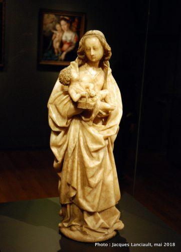 Vierge à l'enfant, Rijksmuseum, Amsterdam, Pays-Bas