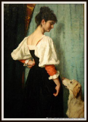 Portrait d'une jeune femme, Rijksmuseum, Amsterdam, Pays-Bas