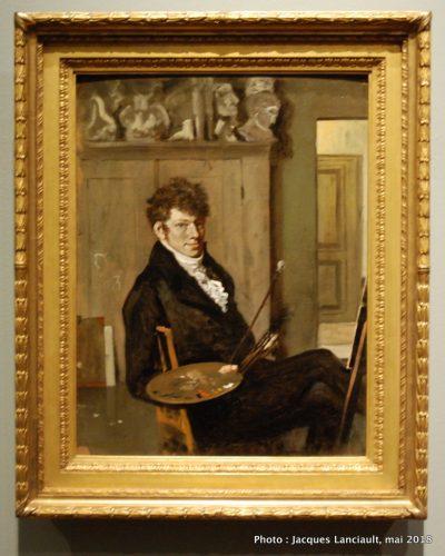 Autoportrait de Wouter Johannes van Troostwijk, Rijksmuseum, Amsterdam, Pays-Bas