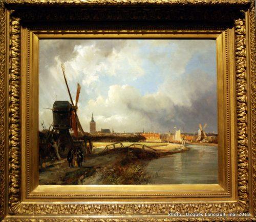 Vue de La Haye, Rijksmuseum, Amsterdam, Pays-Bas