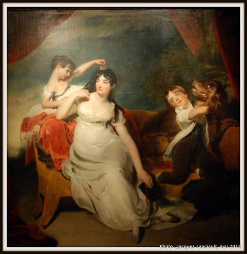 Maria Mathilda Bingham avec deux de ses enfants, Rijksmuseum, Amsterdam, Pays-Bas