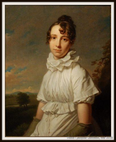Portrait d'Emma Jane Hodges, Rijksmuseum, Amsterdam, Pays-Bas