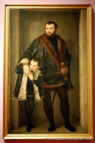 Comte Iseppo da Porto et son fils Leonida, Rijksmuseum, Amsterdam, Pays-Bas