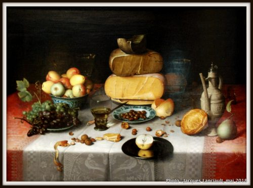 Nature morte avec fromage, Rijksmuseum, Amsterdam, Pays-Bas