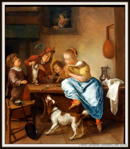 La leçon de danse, Rijksmuseum, Amsterdam, Pays-Bas