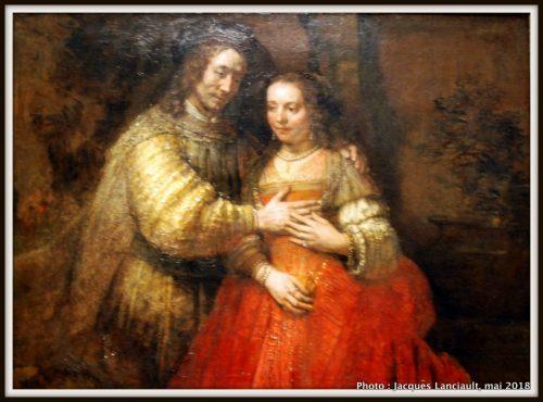 La fiancée juive, Rijksmuseum, Amsterdam, Pays-Bas