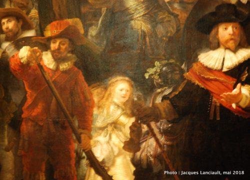 Ronde de nuit, Rijksmuseum, Amsterdam, Pays-Bas