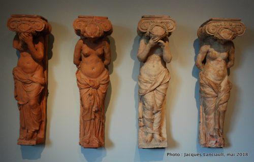 Caryatides pleureuses et captives, Rijksmuseum, Amsterdam, Pays-Bas