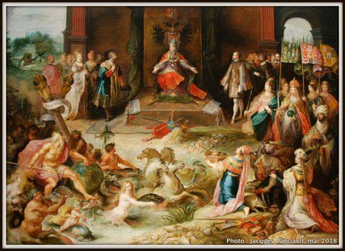 Allégorie de l'abdication de l'Empereur Charles Quint à Bruxelles, Rijksmuseum, Amsterdam, Pays-Bas