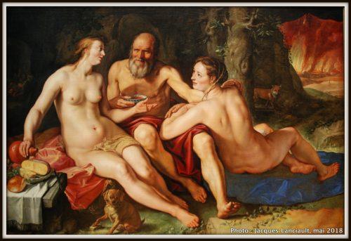 Loth et ses filles, Rijksmuseum, Amsterdam, Pays-Bas