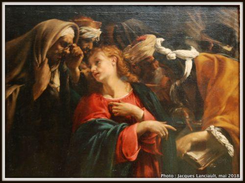 Jésus parmi les docteurs, Rijksmuseum, Amsterdam, Pays-Bas