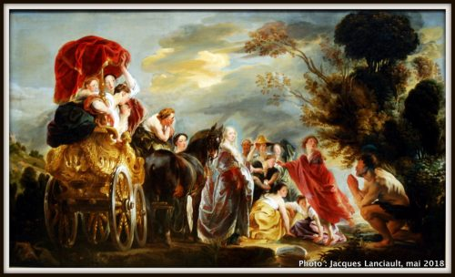 La rencontre d'Ulysse et de Nausicaa, Rijksmuseum, Amsterdam, Pays-Bas
