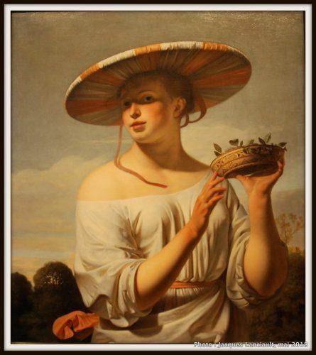 Jeune fille au large chapeau, Rijksmuseum, Amsterdam, Pays-Bas