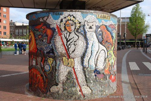 Het Kompas, Marie Heinekenplein, Amsterdam, Pays-Bas