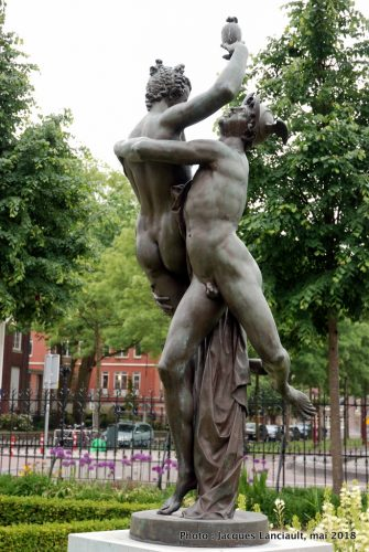 Mercure et Psyché, Jardins du Rijksmuseum, Amsterdam Pays-Bas