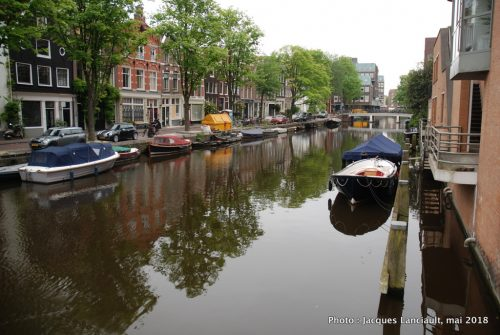 Canal, Amsterdam, Pays-Bas