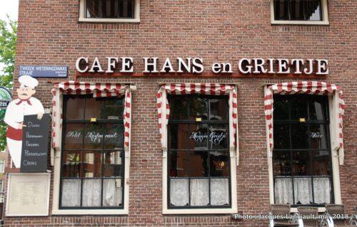 Cafe Hans en Grietje, Amsterdam Pays-Bas