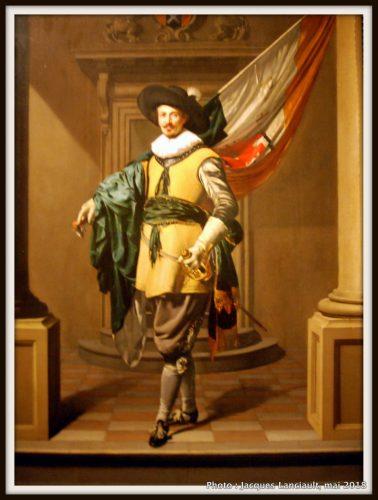 Portrait de Loef Vredericx comme porte-drapeau, Hermitage Amsterdam, Amsterdam, Pays-Bas