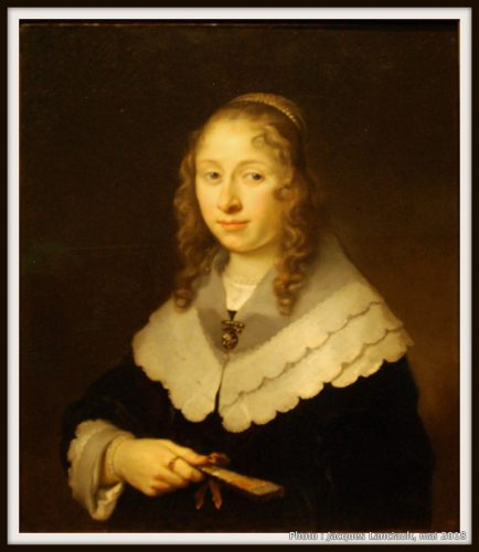 Portrait de Cornelia Haringh, Hermitage Amsterdam, Amsterdam, Pays-Bas