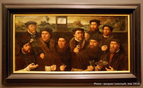 Portrait de groupe de la corporation des tireurs de mousquet d'Amsterdam, Hermitage Amsterdam, Amsterdam, Pays-Bas