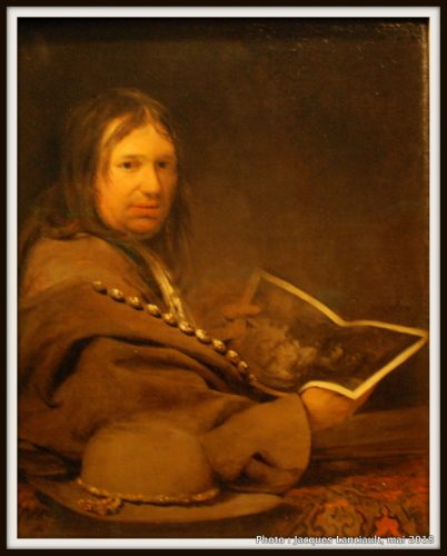 Auto-portrait de Arent de Gelder, Hermitage Amsterdam, Amsterdam, Pays-Bas