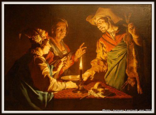 Ésaü vendant son droit d'aînesse à Jacob, Hermitage Amsterdam, Amsterdam, Pays-Bas