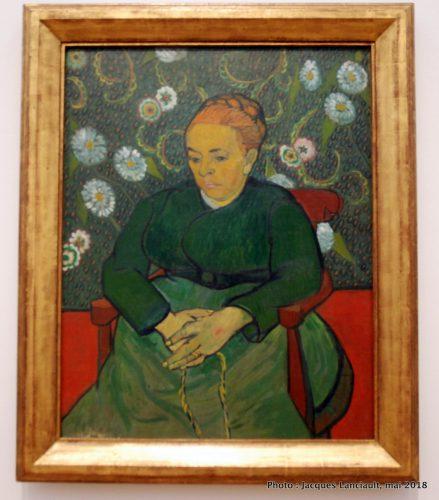 Portrait d'Augustine Roulin, Stedelijkmuseum, Amsterdam, Pays-Bas