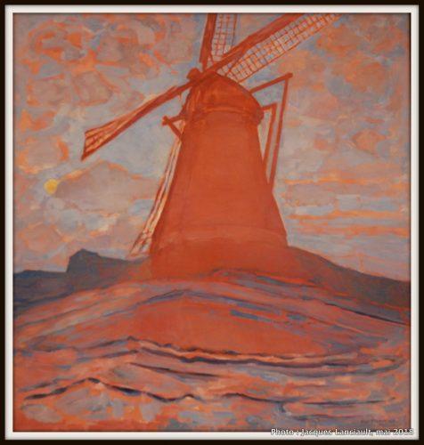 Moulin à vent,Stedelijkmuseum, Amsterdam, Pays-Bas