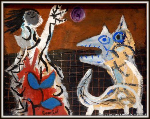 Jeune fille et le chien, Stedelijkmuseum, Amsterdam, Pays-Bas