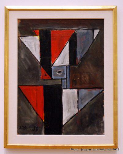 Formes abstraites avec des triangles, Stedelijkmuseum, Amsterdam, Pays-Bas