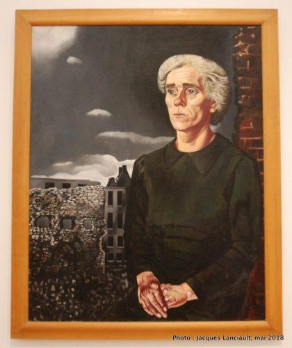 Femme de la classe ouvrière, Stedelijkmuseum, Amsterdam, Pays-Bas