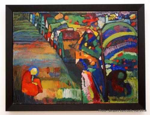 Peinture avec maison, Stedelijkmuseum, Amsterdam, Pays-Bas