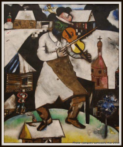Le Violoniste, Stedelijkmuseum, Amsterdam, Pays-Bas