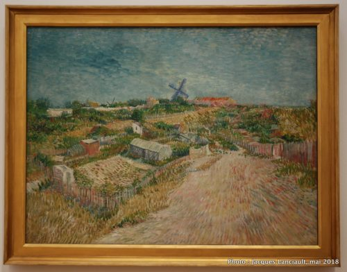 Jardin potager à Montmartre, Stedelijkmuseum, Amsterdam, Pays-Bas