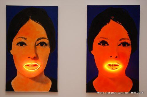 Peinture à haute tension, Stedelijkmuseum, Amsterdam, Pays-Bas