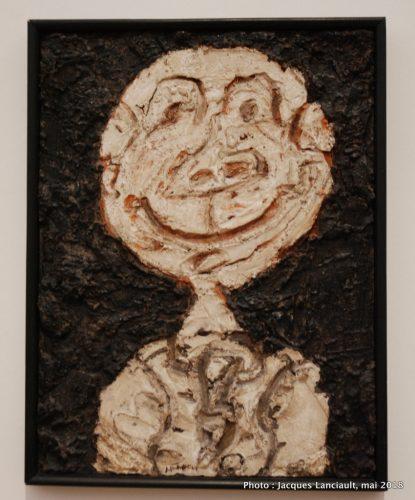 Personnage hilare (portrait de Franco Ponge), Stedelijkmuseum, Amsterdam, Pays-Bas