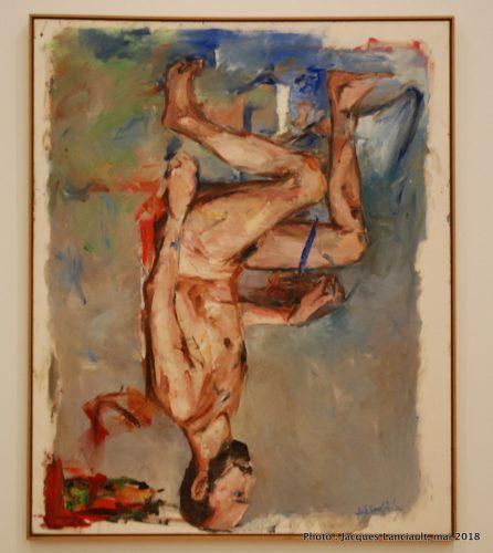 Nu, peint au doigt, Stedelijkmuseum, Amsterdam, Pays-Bas