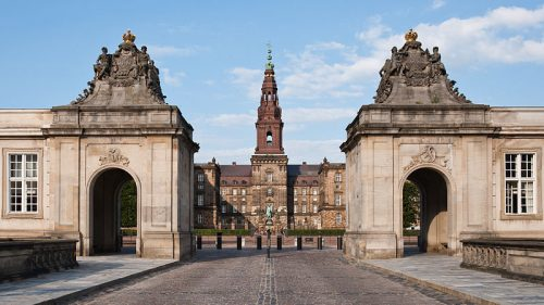 Christiansborg Slot, Copenhague, Danemark