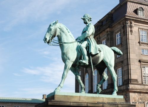 Roi Christian IX, Christiansborg Slot, Copenhague, Danemark